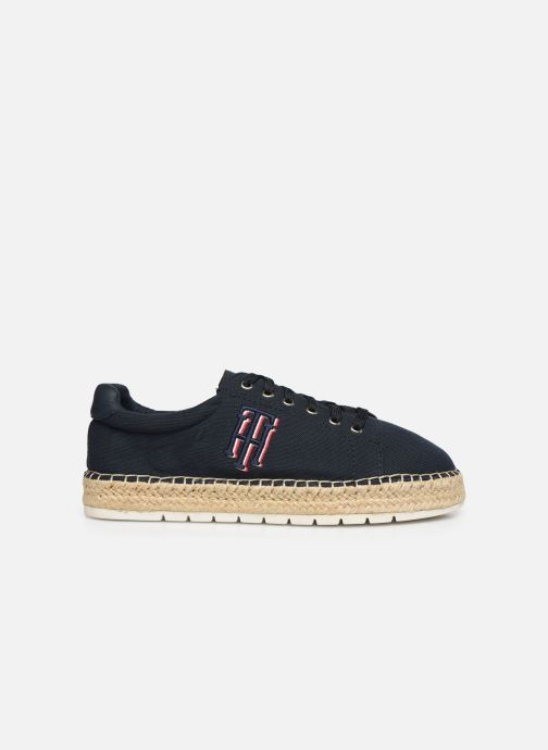 Deportivas Tommy Hilfiger NAUTICAL TH LACE UP ESPADRILLE Azul vistra trasera