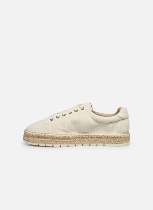 Baskets Tommy Hilfiger NAUTICAL TH LACE UP ESPADRILLE Blanc vue face