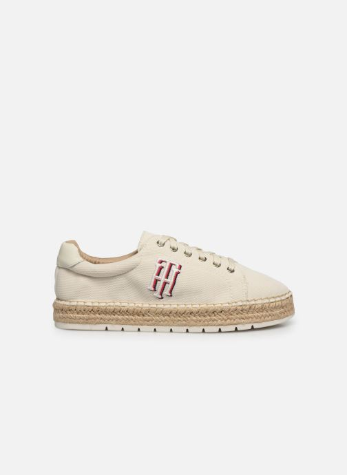 Deportivas Tommy Hilfiger NAUTICAL TH LACE UP ESPADRILLE Blanco vistra trasera