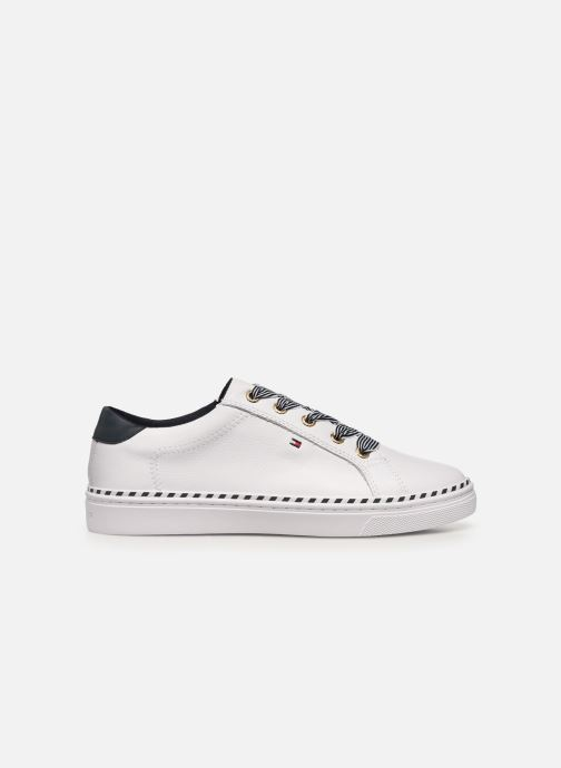 Sneakers Tommy Hilfiger NAUTICAL LACE UP SNEAKER Wit achterkant