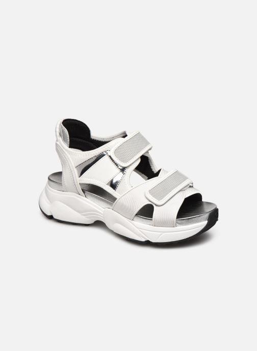 Sandaler Michael Michael Kors HARVEY  SANDAL Hvid detaljeret billede af skoene
