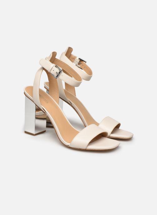 Sandali e scarpe aperte Michael Michael Kors PETRA ANKLE STRAP Bianco immagine 3/4
