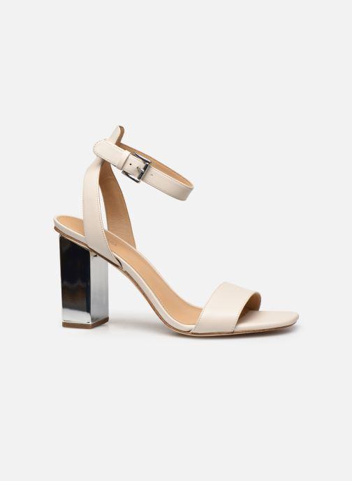 Sandali e scarpe aperte Michael Michael Kors PETRA ANKLE STRAP Bianco immagine posteriore