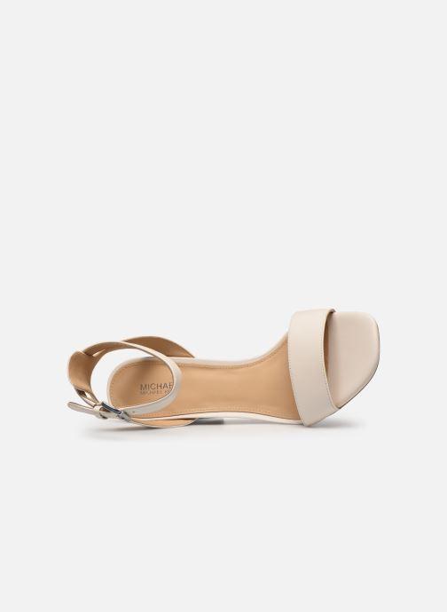 Sandali e scarpe aperte Michael Michael Kors PETRA ANKLE STRAP Bianco immagine sinistra