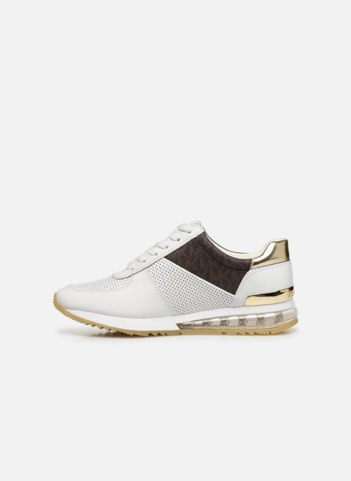 Sneakers Michael Michael Kors ALLIE TRAINER EXTREME Bianco immagine frontale