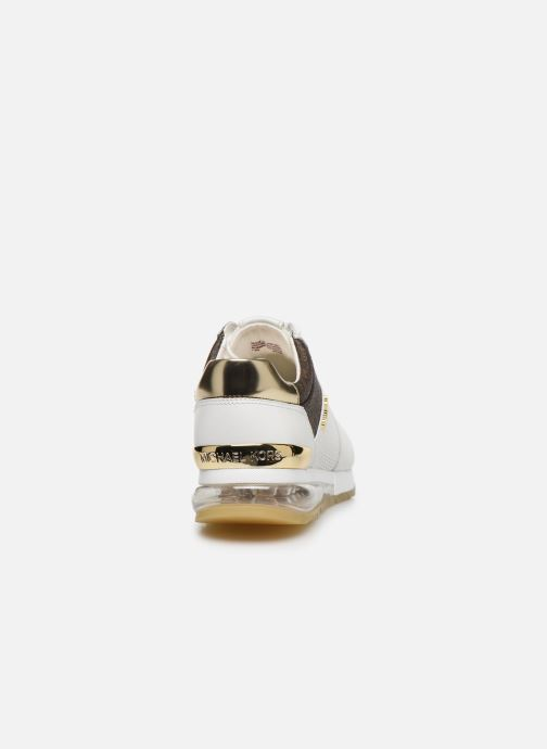 Sneakers Michael Michael Kors ALLIE TRAINER EXTREME Bianco immagine destra