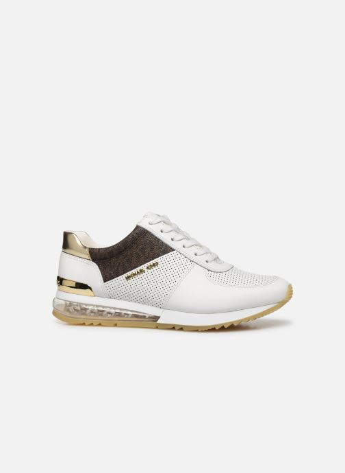 Sneakers Michael Michael Kors ALLIE TRAINER EXTREME Bianco immagine posteriore