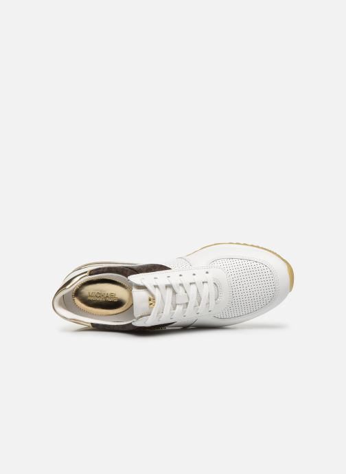 Sneakers Michael Michael Kors ALLIE TRAINER EXTREME Bianco immagine sinistra