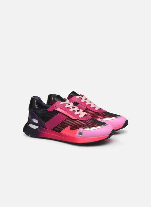 Sneakers Michael Michael Kors MONROE  TRAINER Rosa immagine 3/4