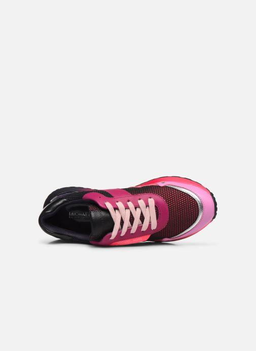 Sneakers Michael Michael Kors MONROE  TRAINER Rosa immagine sinistra