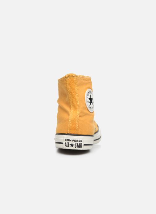 Trainers Converse Chuck Taylor All Star Chuck Taylor Cheerful Hi Yellow view from the right