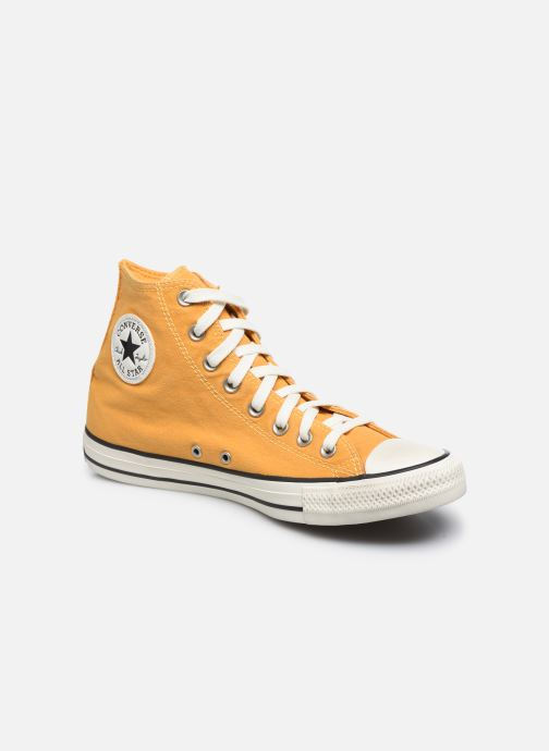 Trainers Converse Chuck Taylor All Star Chuck Taylor Cheerful Hi Yellow detailed view/ Pair view