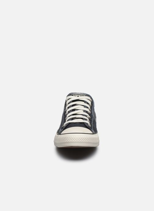 Baskets Converse Chuck Taylor All Star Self Expression Ox Noir vue portées chaussures