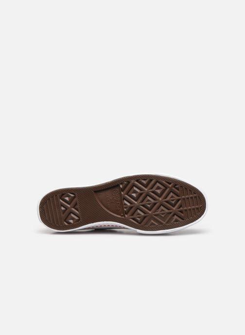Sneakers Converse Chuck Taylor All Star Lift Love Fearlessly Ox Nero immagine dall'alto