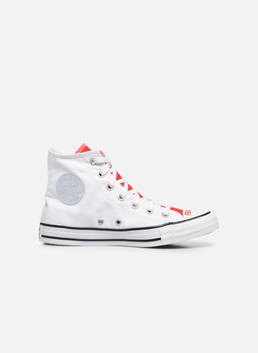 Sneakers Converse Chuck Taylor All Star Love Fearlessly Hi Rosso immagine posteriore