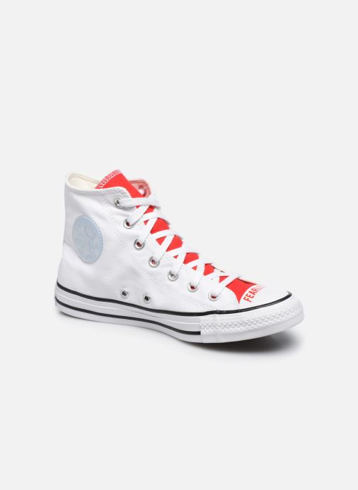 Sneakers Converse Chuck Taylor All Star Love Fearlessly Hi Rosso vedi dettaglio/paio