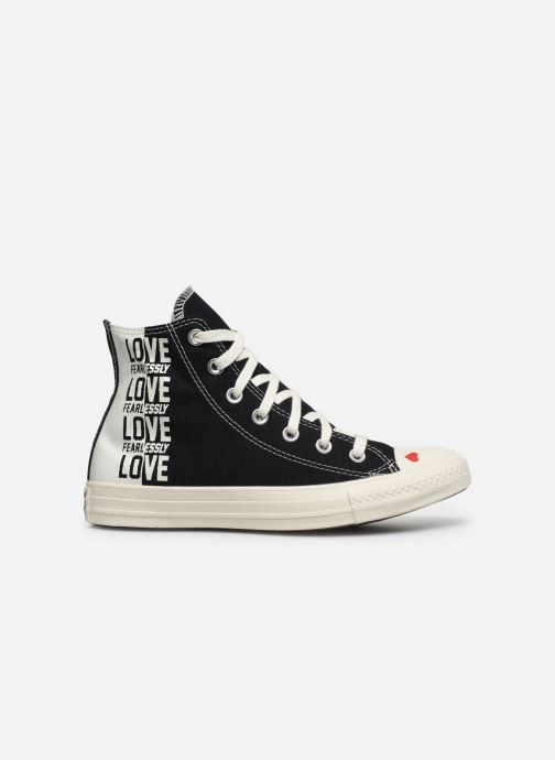 Baskets Converse Chuck Taylor All Star Love Fearlessly Hi Noir vue derrière