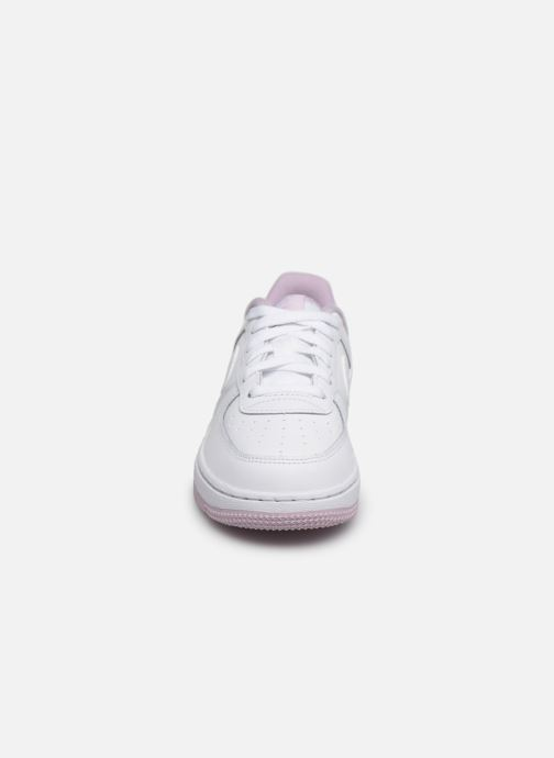 Baskets Nike Nike Force 1-1 (Ps) Blanc vue portées chaussures