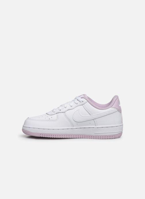 Sneaker Nike Nike Force 1-1 (Ps) weiß ansicht von vorne