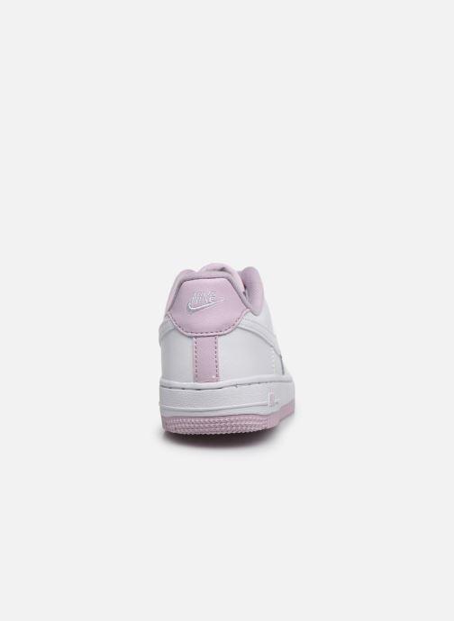 Baskets Nike Nike Force 1-1 (Ps) Blanc vue droite