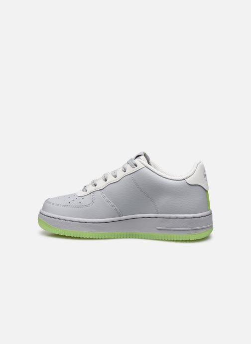 Sneaker Nike Nike Air Force 1 Lv8 3 (Gs) grau ansicht von vorne