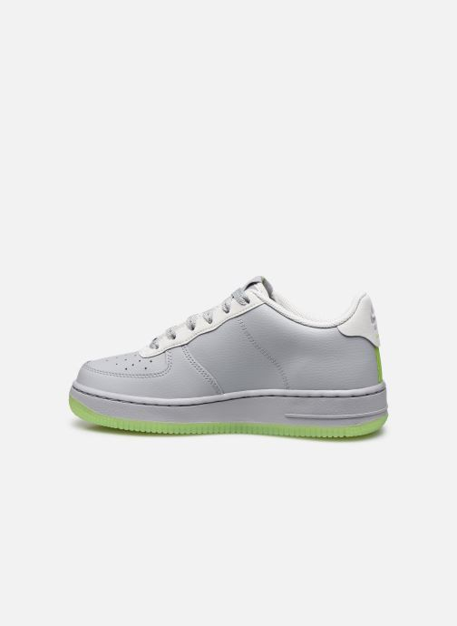 Sneakers Nike Nike Air Force 1 Lv8 3 (Gs) Grå se forfra