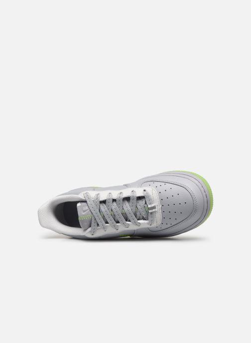 Sneaker Nike Nike Air Force 1 Lv8 3 (Gs) grau ansicht von links