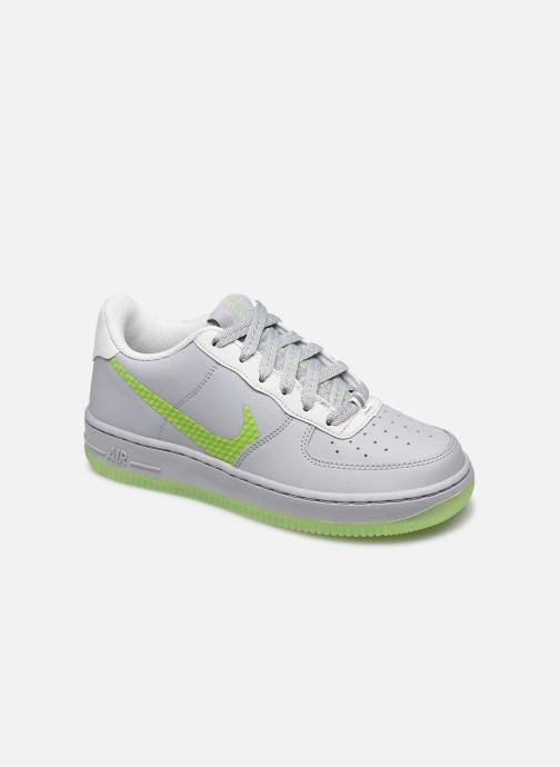Baskets Nike Nike Air Force 1 Lv8 3 (Gs) Gris vue détail/paire
