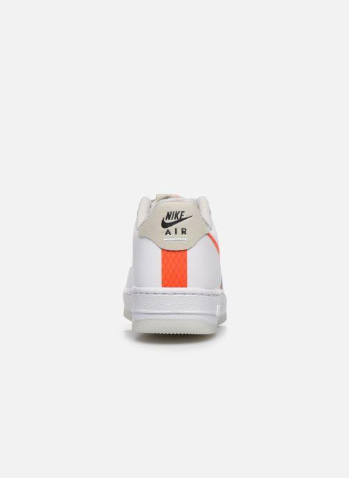 Sneaker Nike Nike Air Force 1 Lv8 3 (Gs) weiß ansicht von rechts