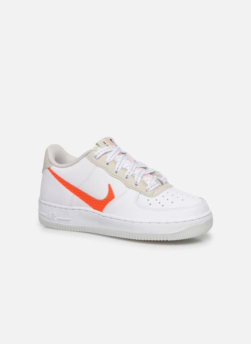 Baskets Nike Nike Air Force 1 Lv8 3 (Gs) Blanc vue détail/paire