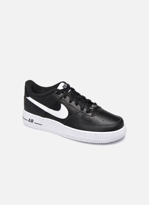 Deportivas Nike Air Force 1 An20 (Gs) Negro vista de detalle / par
