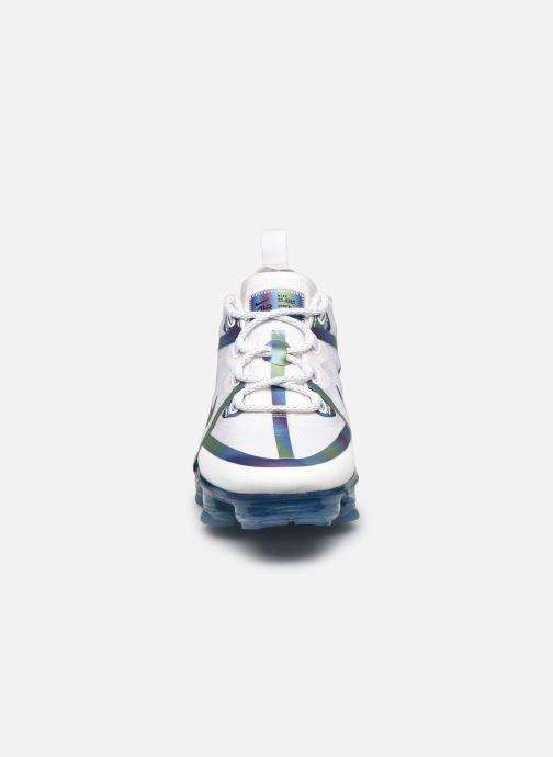 Baskets Nike Nike Air Vapormax 2019 20 (Gs) Blanc vue portées chaussures