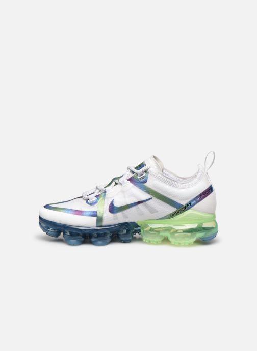 Sneakers Nike Nike Air Vapormax 2019 20 (Gs) Wit voorkant