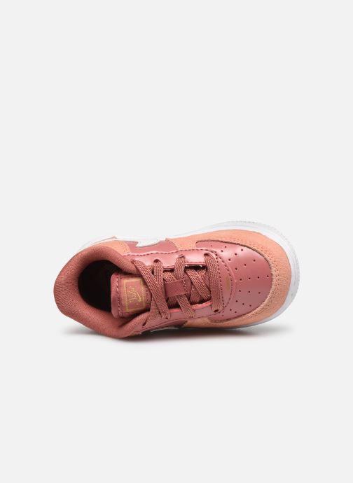 Baskets Nike Force 1 Lv8 V Day (Td) Rose vue gauche