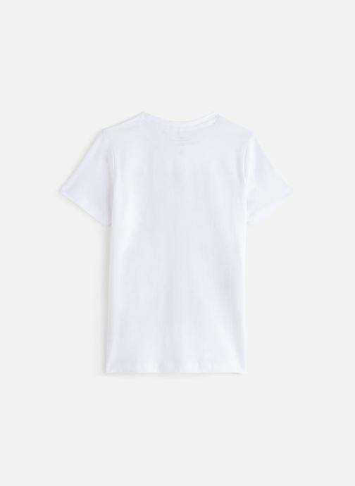 Vêtements Name it Nkmbaxter Ss Top Blanc vue bas / vue portée sac