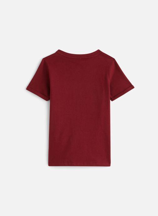 Vêtements Name it Nkmtbrave Ss Top Rouge vue bas / vue portée sac