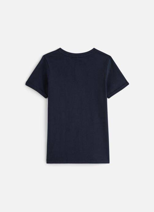 Vêtements Name it Nkmtbrave Ss Top Bleu vue bas / vue portée sac