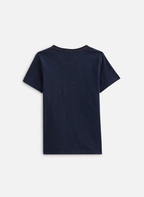 Vêtements Name it Nkmtriajbia Ss Top Bleu vue bas / vue portée sac