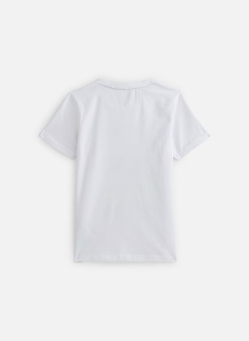Vêtements Name it Nkmbarney Ss Top Box Blanc vue bas / vue portée sac