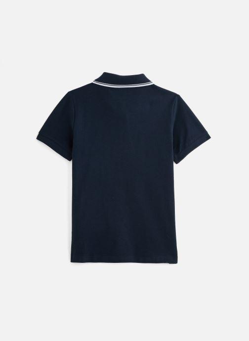 Vêtements Name it Nkmtoslila Ss Polo Bleu vue bas / vue portée sac