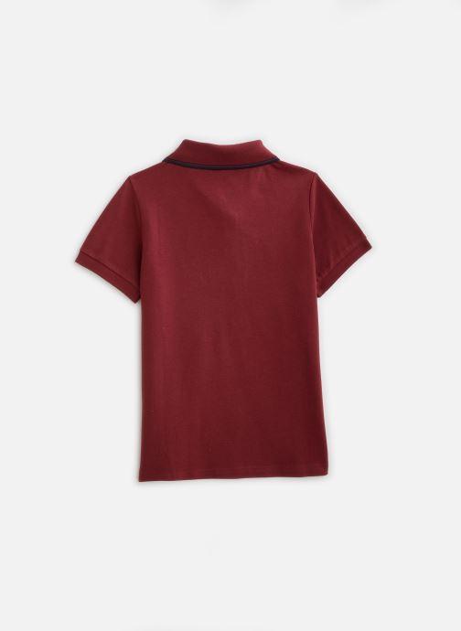 Vêtements Name it Nkmtoslila Ss Polo Rouge vue bas / vue portée sac