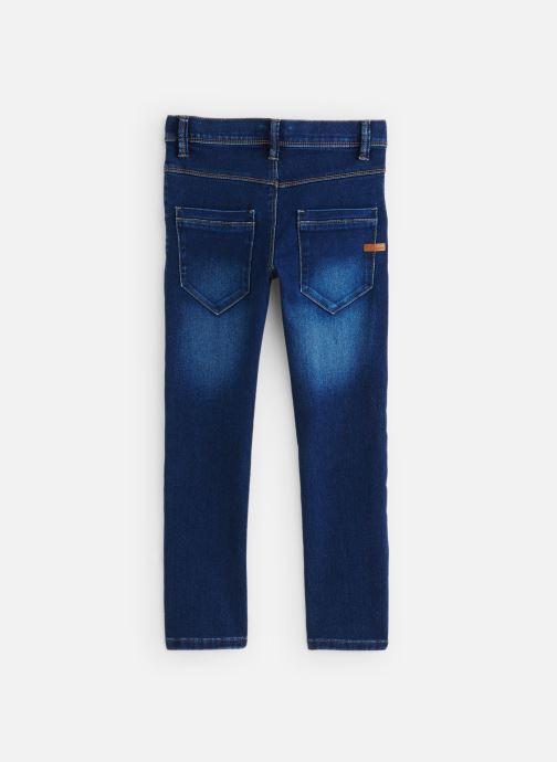 Vêtements Name it Nittax Slim/Xsl Dnm Pant Nmt Bleu vue bas / vue portée sac