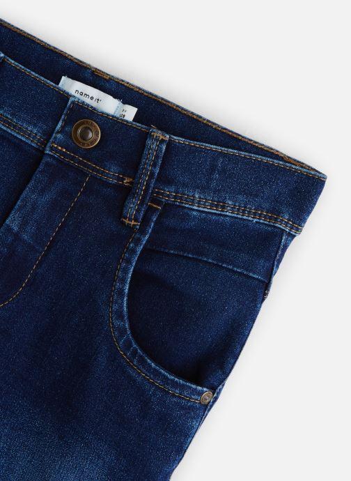 Vêtements Name it Nittax Slim/Xsl Dnm Pant Nmt Bleu vue portées chaussures