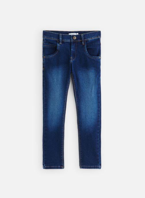 Vêtements Name it Nittax SlimXsl Dnm Pant Nmt Bleu vue détail/paire