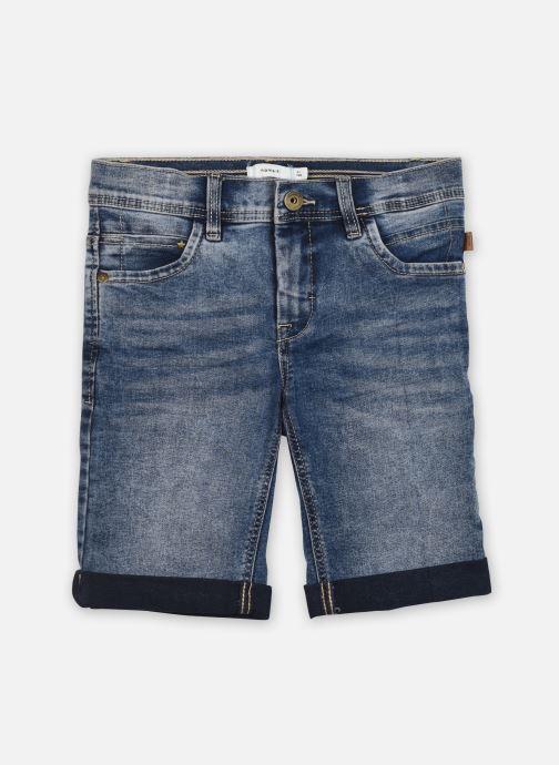 Vêtements Name it Nkmsofus Dnmcartus 2317 Long Shorts Camp Bleu vue détail/paire