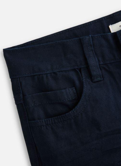 Vêtements Name it Nkmsofus Twiisak Long Short Camp Bleu vue portées chaussures