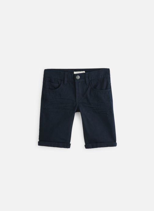 Vêtements Name it Nkmsofus Twiisak Long Short Camp Bleu vue détail/paire