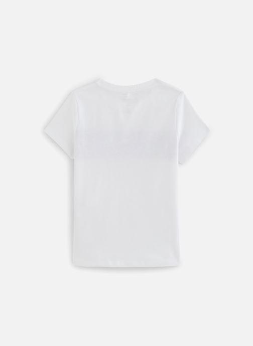 Vêtements Name it Nkftinea Ss Top Box Blanc vue bas / vue portée sac