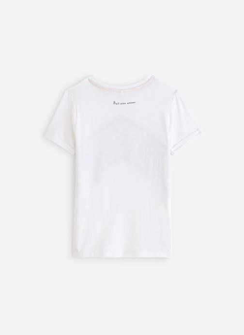 Vêtements Name it Nkfbidda Ss Top Blanc vue bas / vue portée sac