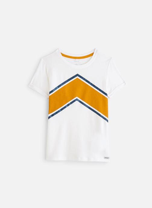Vêtements Name it Nkfbidda Ss Top Blanc vue détail/paire